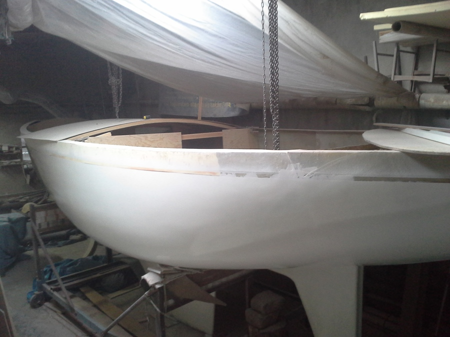 Jacht Perła Gdynia - Budowa