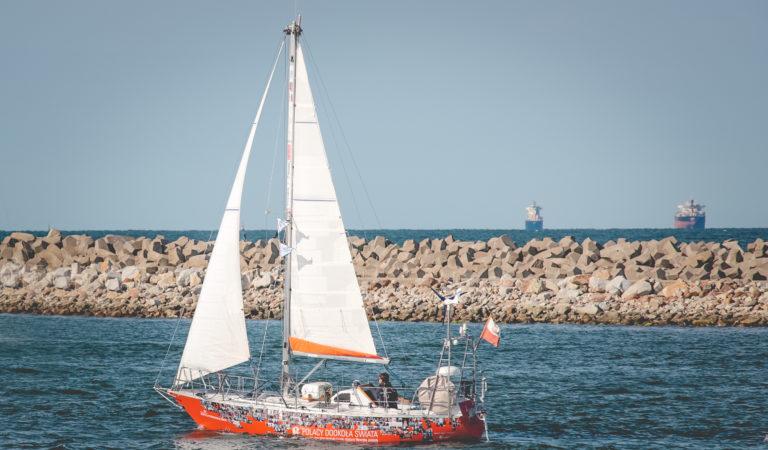 Bartek Czarciński wypływa na Perle w rejs dookoła Świata