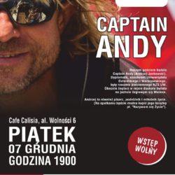 Spotkanie Sail Calisia - kapitan Andy opowiada o życiu na morzu
